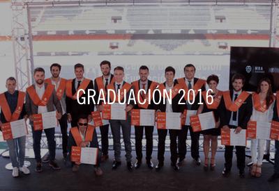 Graduación Máster MBA Valencia CF 2016