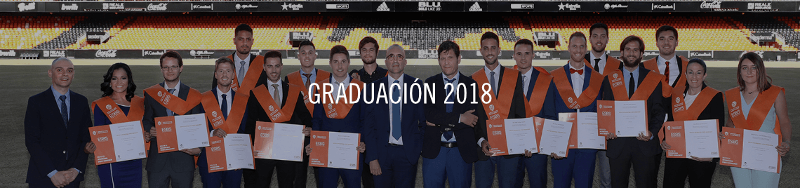 Graduación Máster MBA Valencia CF 2018