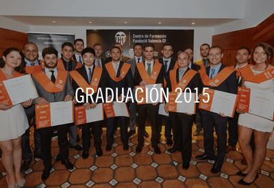 Graduación Máster MBA Valencia CF 2015