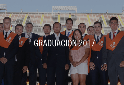 Graduación Máster MBA Valencia CF 2017